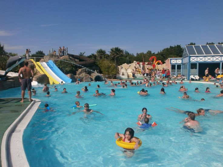 Charming Le Clarys Plage Is A Superb Fun Filled Family Friendly Campsite Located In  The Vendee Region Of France Which Offers An Array Of Activities And  Facilities