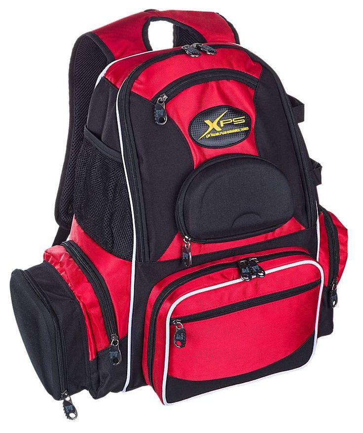 Bass pro shops xps stalker backpack tackle bag or system for Best fishing backpack