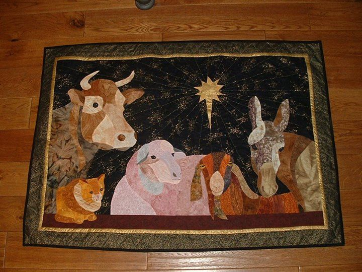139 best Nativity images on Pinterest | Christmas crafts ... : nativity quilts - Adamdwight.com