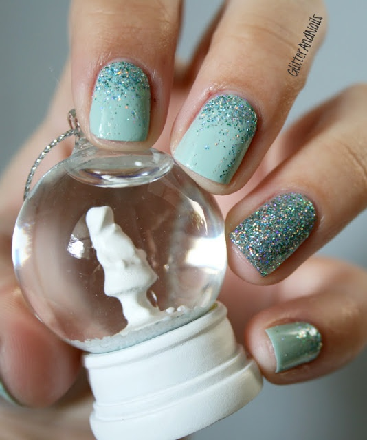 Mint green + CC Beyond the Mistletoe