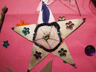 redflax creates: matariki craftiness - DIY whetu (stars) with my little tamariki (kids)