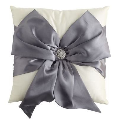Pillow with bow from Pier 1