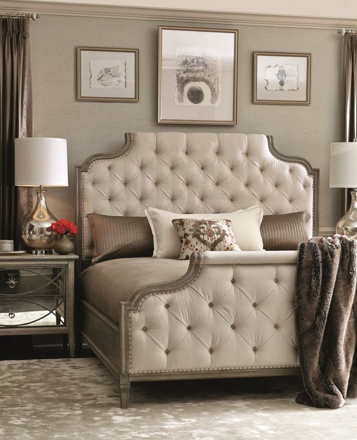 Marquesa Upholstered King Bed