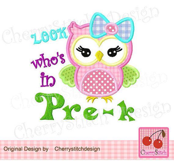 67 best School Machine Embroidery Digital Applique Designs images