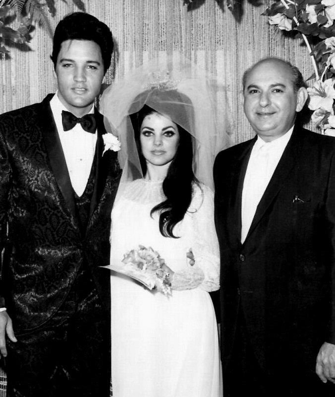 Elvis and Priscilla & The Justice of the Peace.
