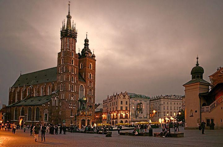 Мариацкий собор, Краков, Польша
