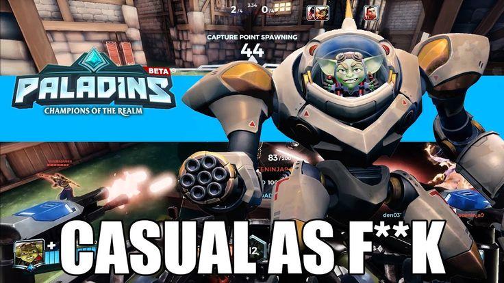 I gotz laser beams and Ruckus ! - Paladins Ruckus Gameplay