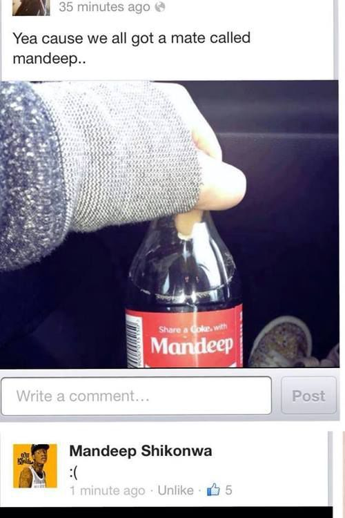 Lets See Him Get A Personalized Mug Without Custom Ordering Very Funny Mandeep The Popular