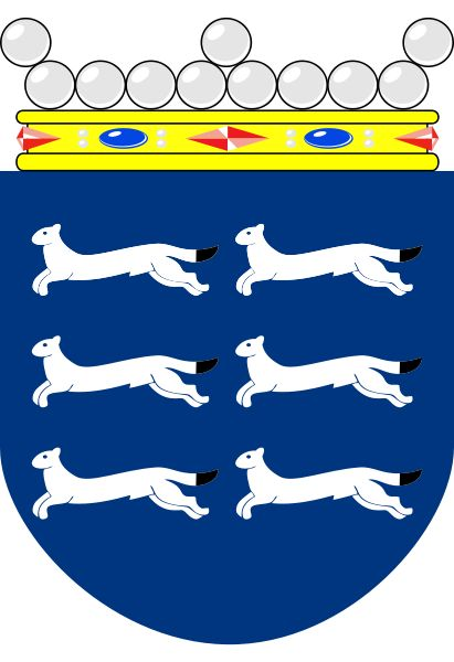 Coats of arms of historical province of Ostrobothnia, Finland