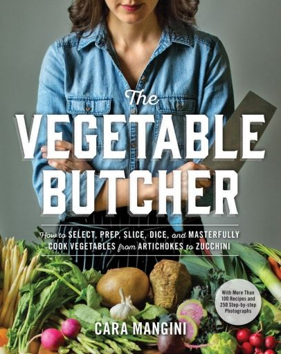 Cara Mangini is the executive chef and owner of Little Eater, a vegetable-inspired restaurant, produce stand and artisanal foods boutique in Columbus, Ohio, and the author of the Vegetable Butcher column for The Kitchn.com. In her new book, The Vegetable Butcher, Mangini marries the art of butchery with the versatility of seasonal produce, sharing techniques and creative recipes that enable you to celebrate the soul-satisfying flavor of more than 50 vegetables.