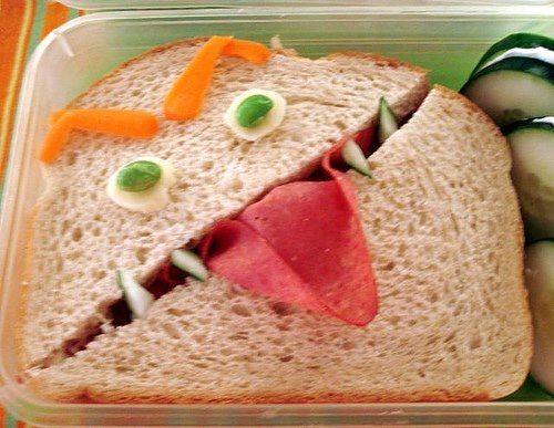 The sandwich that bites back!