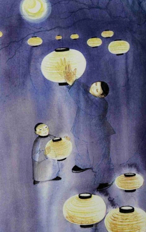 """""""Festivals"""", an anthology compiled by Ruth Manning Sanders and illustrated by Raymond Briggs (1973)."""