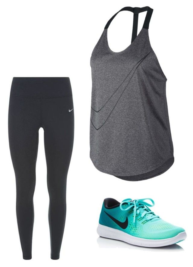 """Untitled #18"" by hongjina on Polyvore featuring NIKE"