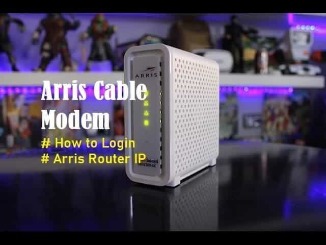 This Post Will Discuss Arris Cable Modem Its Types How It Works Step By Step Guide And Ip Address For Arris Router Login Key Compo Cable Modem Modem Router