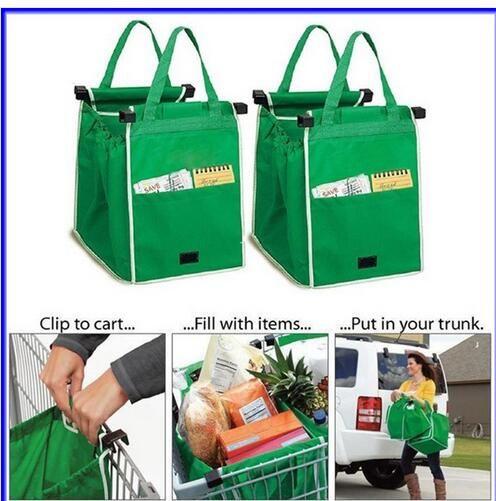 Como visto na TV saco dobrável de lona Eco friendly de apoio grande sacos de supermercado em Cestas de armazenamento de Em casa, Kitchen & Jardim no AliExpress.com | Alibaba Group