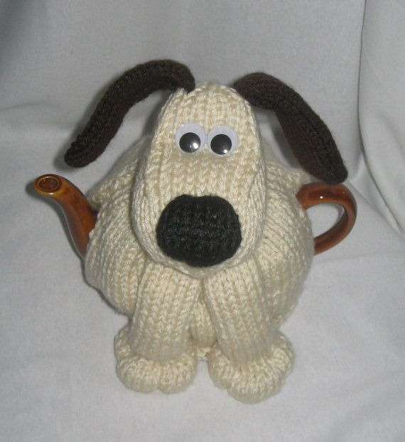 Dog Tea Cosy  KNITTING PATTERN  downloadable file by RianAnderson, $4.00