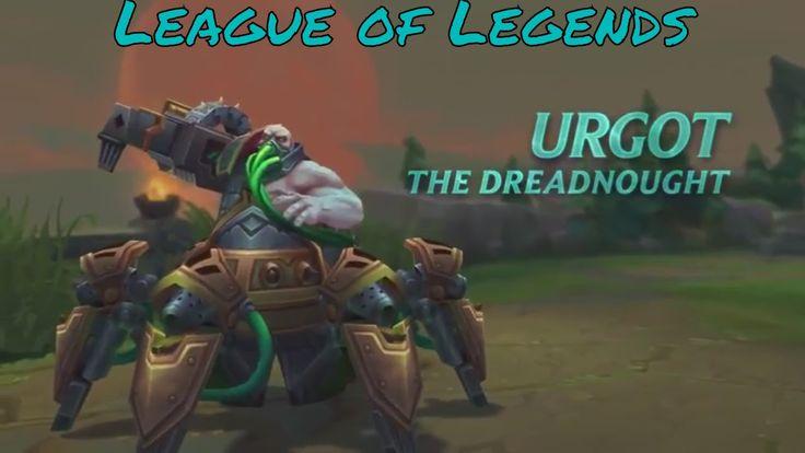League of Legends Official Urgot Champion Spotlight