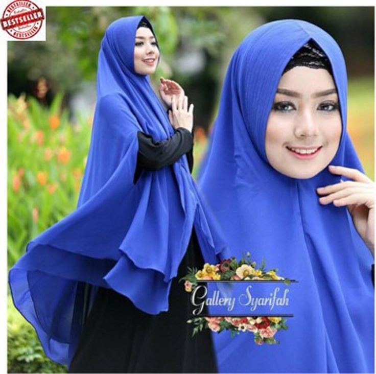 New Women's Long Jilbab Khimar Cintya - Other