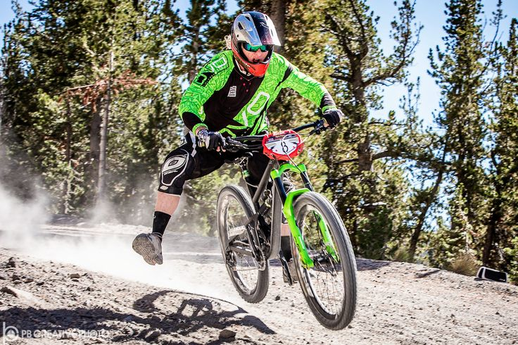 """https://flic.kr/p/YHi4XY   Legend of the Kamikaze   After all these years, """"Insane Wayne"""" Croasdale still delivers on the Kamikaze Downhill, as seen in this year's Legends of the Kamikaze mountain bike event at Mammoth Mountain.  Galleries: www.pbcreativephoto.com."""
