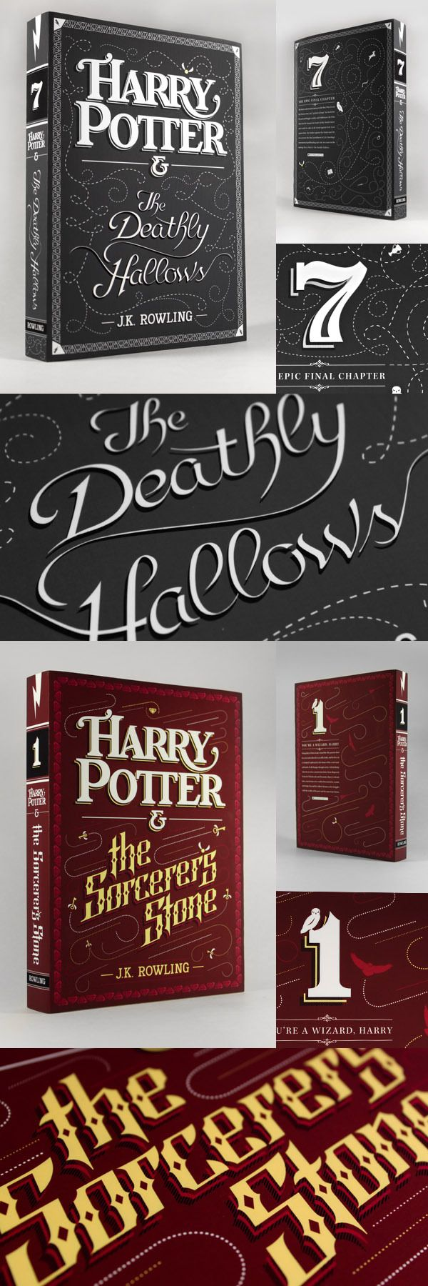 Typographic Book Cover Maker : Best images about harry potter typography on pinterest