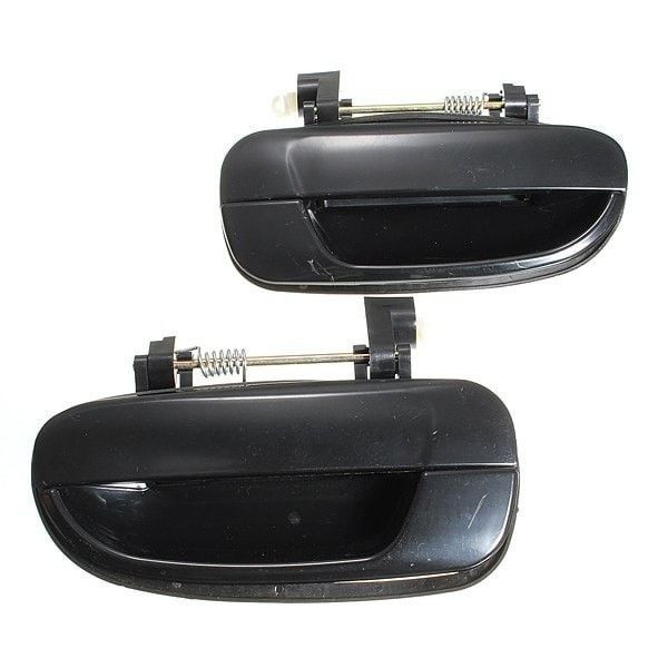 Rear Auto Outside Exterior Door Handle For Accent Hyundai 00-06. black Rear Auto Outside Exterior Door Handle For Accent Hyundai 00-06    description:    condition: 100% Brand New  color:black  quantity: 1 Pc (right Or Left)  size:like The Picture Show  replaces Dealer Part Numbers: 83650-25000, 8365025000, 83660-25000, 8366025000  manufacturer Part Number: Am-30150841 Smooth Black Handles    fitment:    fits Rear Right  2000-2006 Accent Hyundai    package Includes:    1 X…