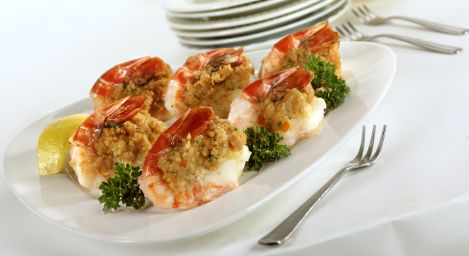 These delicious stuffed shrimp are packed with flavor! An array of ingredients go into this amazing dish; mozzarella, paremsan, green onions, parsely, lemon, Tony's seasoning...you can't go wrong with cajun stuffed shrimp! You're friends will be begging for more!