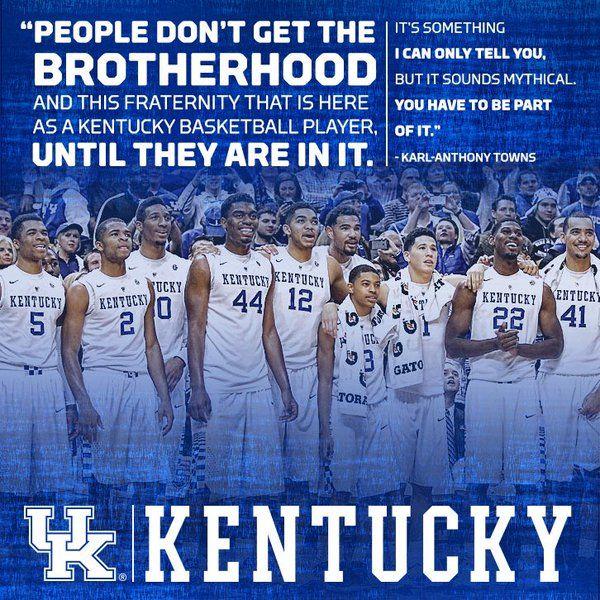 Kentucky basketball: a fraternity for life