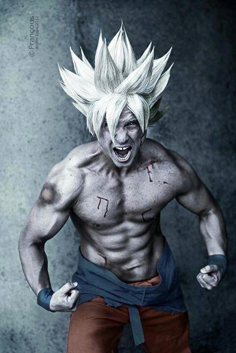 DBZ; Cosplayer -- Living Ichigo; Goku; Kakarot