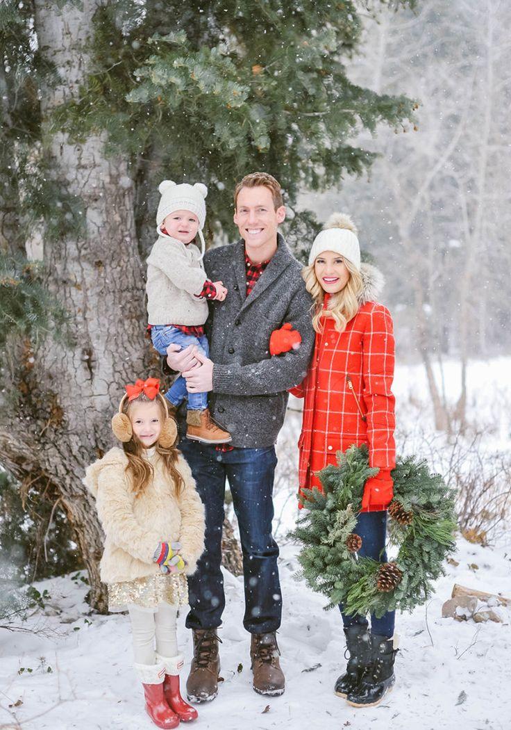 том, идеи для фотосессии семьей зимой этом