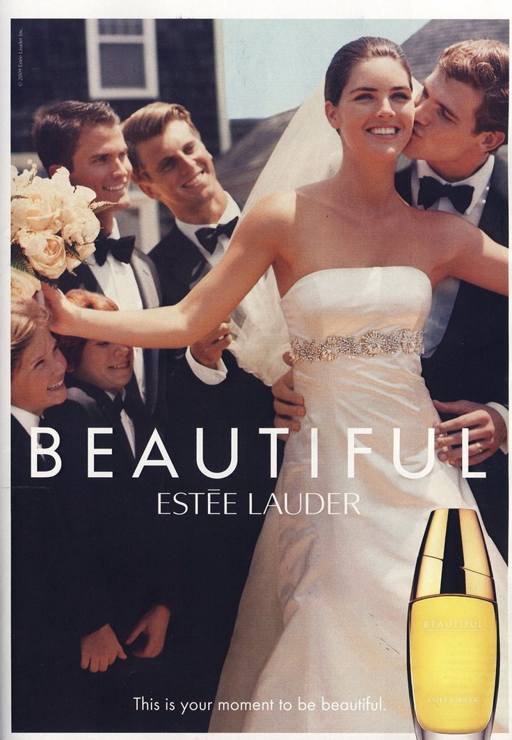 Beautiful Estee Lauder Fragrance Contract S/S 10 (Estee Lauder)