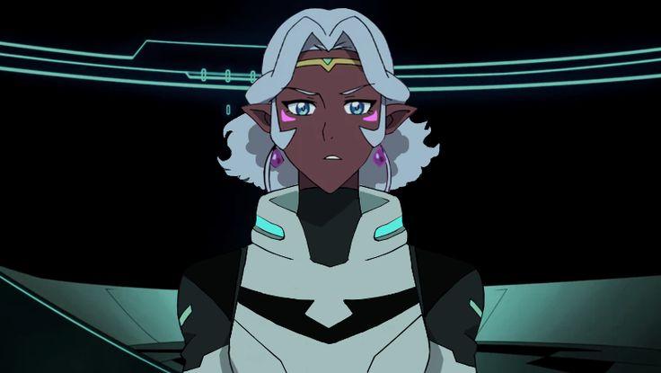 Black Paladin Allura, with short hair because I'm weak. | Voltron allura, Voltron, Voltron ...