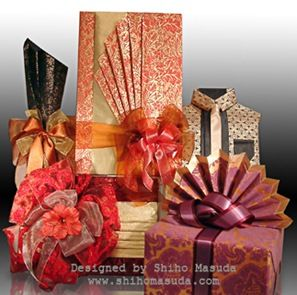 Chinese and Japanese Gift Wrapping Ideas and Wrapping Paper