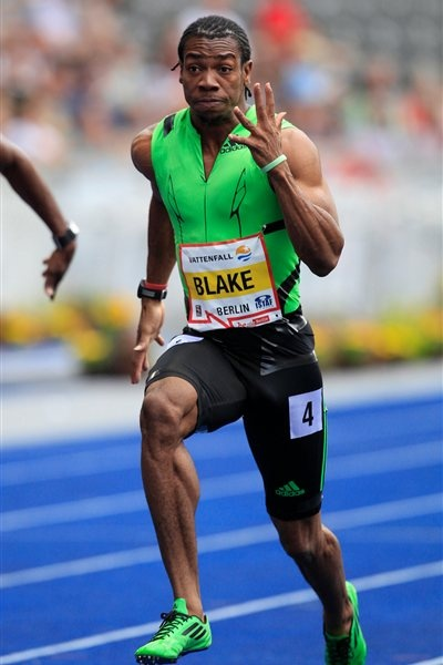 Yohan Blake! I hope his emergence makes Bolt work hard to stay at the top. Track and Field is certainly not ready to see Bolt's stars start falling!