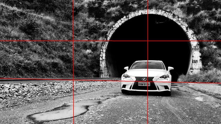 Lexus IS250 mObgraphia Regra dos terços