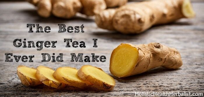 how to make ginger root tea for pregnancy