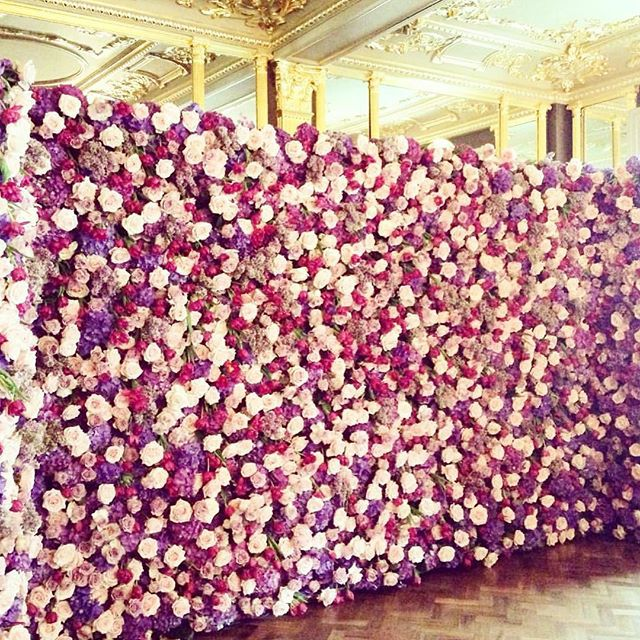 157 best Flower Walls & Floral Frames images on Pinterest ...