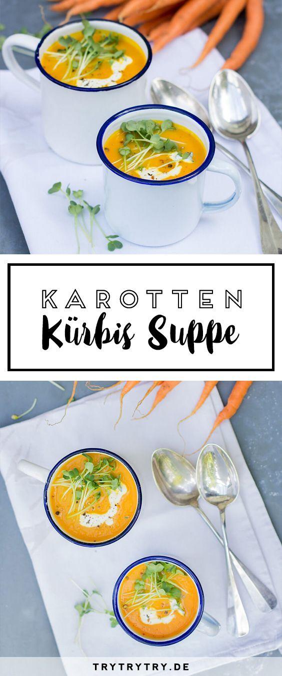 Wenn der Herbst naht: Dieses Rezept für Karotten Kürbis Suppe solltest du unbedingt probieren!