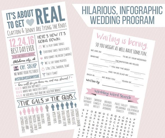 Wonderful The 25+ Best Funny Wedding Programs Ideas On Pinterest Funny   Wedding  Program Inclusions