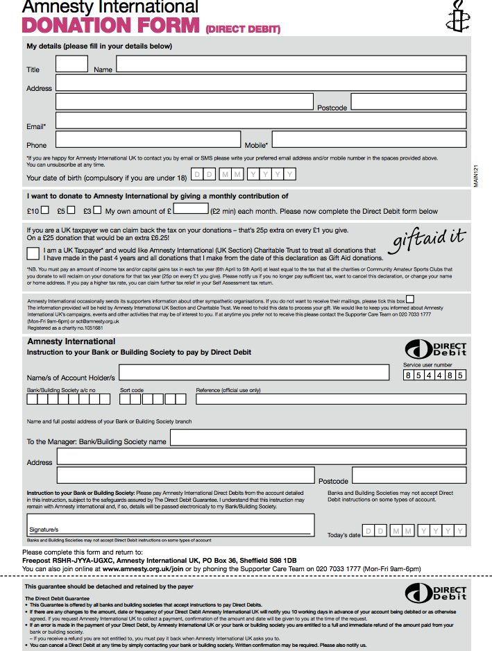 The 25 best ideas about Donation Form – Generic Donation Form