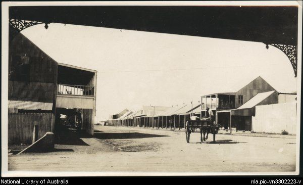 Horse and dray on the street in Chinatown, Darwin, Northern Territory] 1900