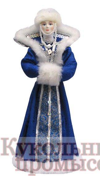 Кукла русская в зимнем костюме 023-224