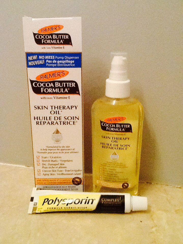 For all my fellow dermatillomania sufferers! When I have an open spot, I use the Polysporin Complete with vitamin E which minimizes the scar and has pain relief so I won't be thinking about that spot. Band-aid immediately! When the spot heals, Palmer's Cocoa Butter as many times a day as I can. I have tried almost every available scar remedy out there and this is the only one that fades new and old spots, evens my skin tone and makes it soft so I have a harder time finding things to pick at.