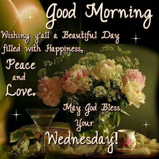 Good Morning, May God Bless Your Wednesday