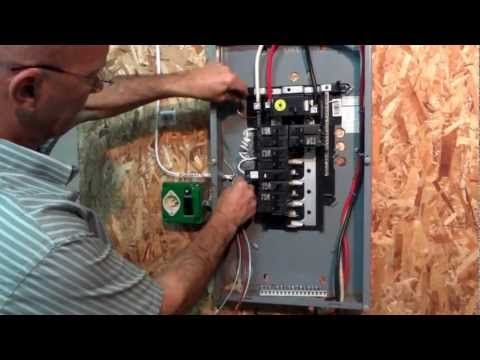 How to Install a Transfer Switch for a Portable Generator - This Old House - YouTube