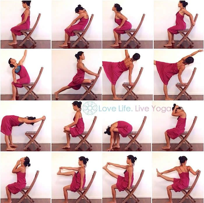There Are Multiple Benefits From Chair Yoga Exercises And You Can Engage In