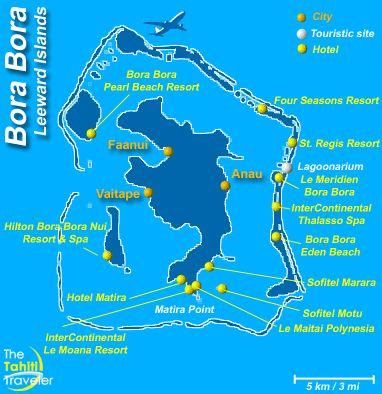Collection Where Is Bora Bora On World Map Photos, - World Map Database