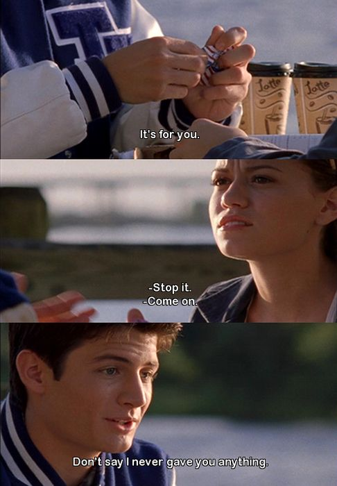 Quotes from One Tree Hill #Nathan #Haley ♥