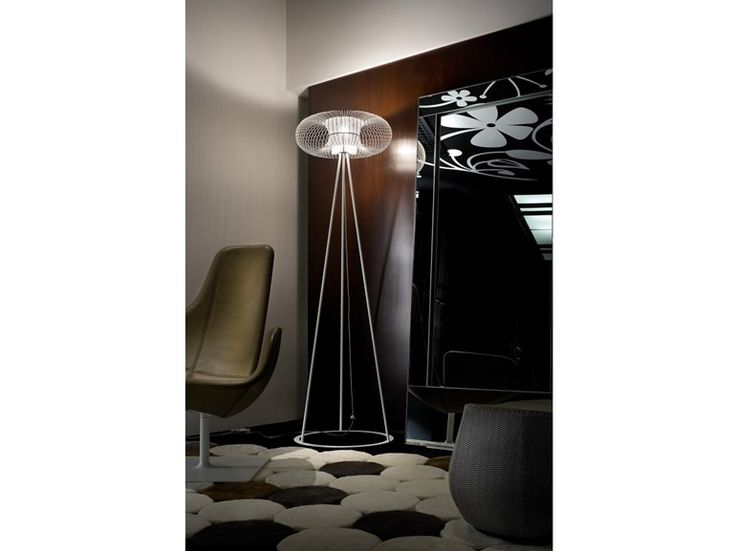Halogen metal floor lamp SPRING TE Spring Collection by Morosini by Luci Italiane design Andrea Lazzari