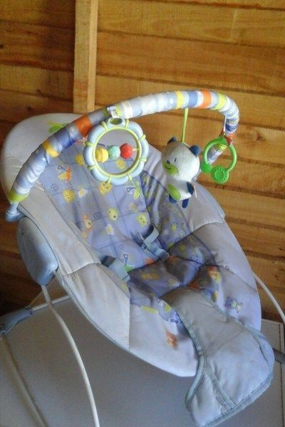 Baby rocking chair R300 ; Red 3 wheel pram/stroller for sale R600 ; Blue Camping Cot for sale R600 - Nursery & Kid's Room-Cots-Western Cape, R600.00 - https://babydorie.co.za/second-hand-baby-cots/baby-rocking-chair-r300-red-3-wheel-pram-stroller-for-sale-r600-blue-camping-cot-for-sale-r600.html #campingcot