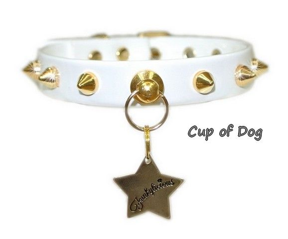 Collier chien Funkylicious Baby Punk Blanco https://www.cupofdog.fr/collier-harnais-chihuahua-petit-chien-xsl-243.html